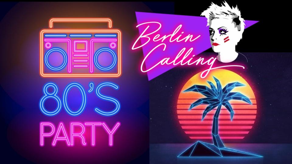 80's Neon Beach Party!