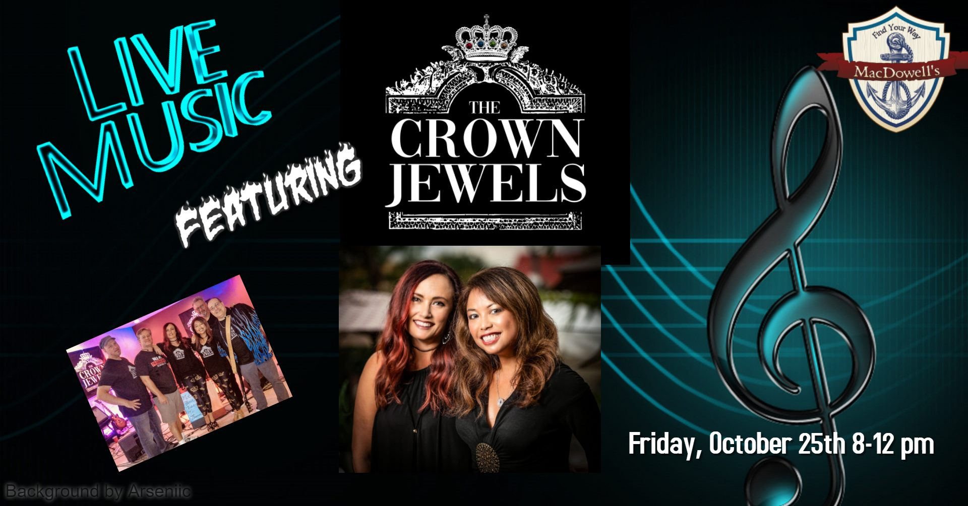 Live Music: The Crown Jewels!